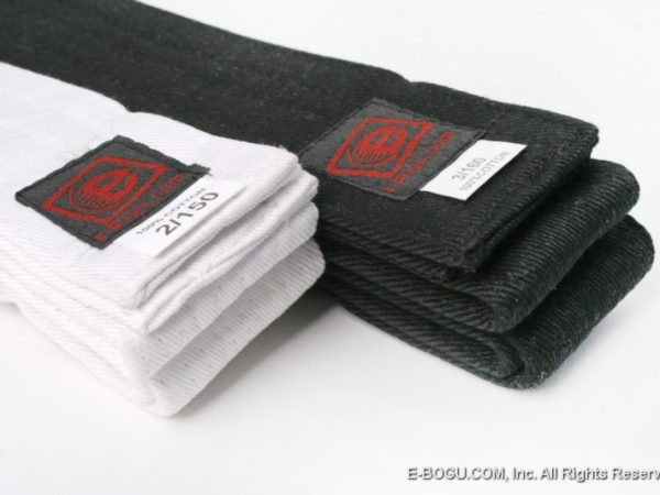Iaido Obi  (Preto ou Branco)