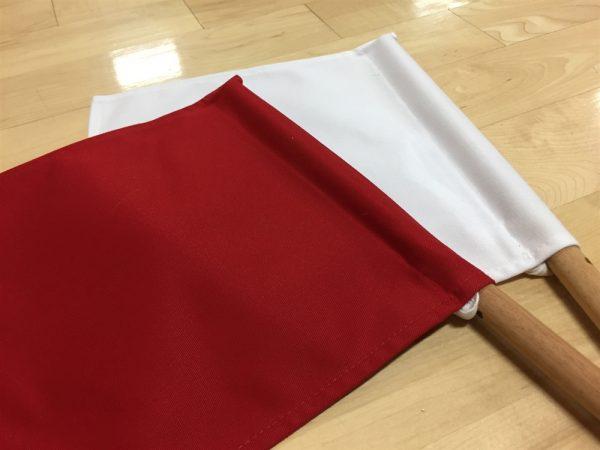 Shinpanki – Official Tournament Flag (Red/White)