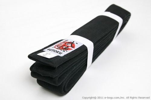 Butoku Master Quality Black Belt 2″ for Judo/Karate