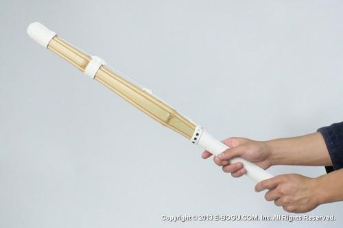 SUPER HEAVY :: Indoor Self Training Short (for both hands) Suburi Shinai Oval Grip